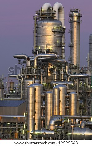 Chemical installation in the Port of Rotterdam