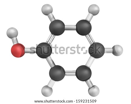Phenol Structure Chemical Structure of Phenol
