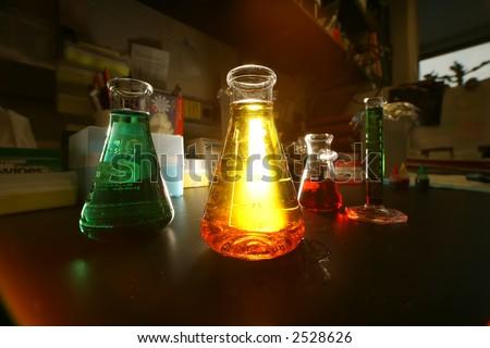 chemistry - stock photo