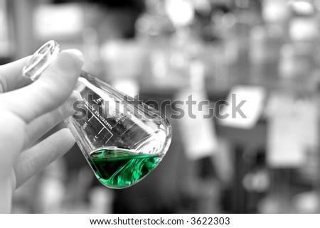 Chemistry - Lab Worker - stock photo