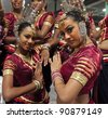 CHENGDU - MAY 29: Sri Lankan traditional dancers perform in the 3rd International Festival of the Intangible Cultural Heritage.May 29, 20011 in Chengdu, China. - stock photo