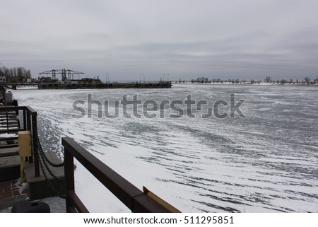 Winter beach kiev - 4 2