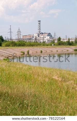 Chernobyl atomic power station - stock photo