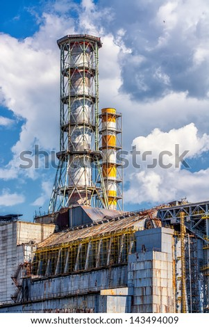 Chernobyl - Pripyat - stock photo