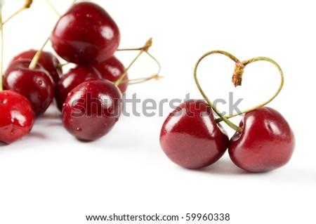Cherry berry - stock photo