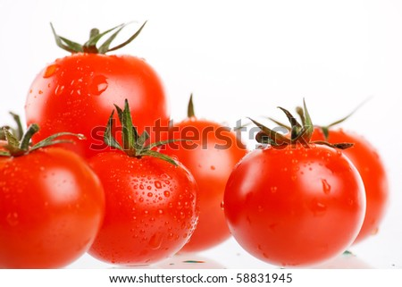 Cherry Berry Tomatoes - stock photo