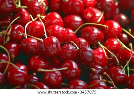 Cherry Red - stock photo