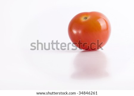 Cherry tomato isolated