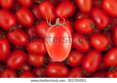 cherry tomatoes - stock photo