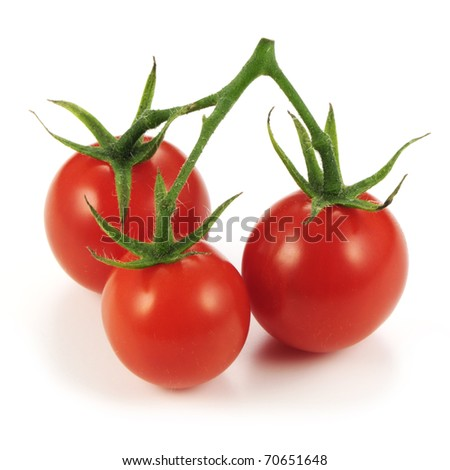 Cherry tomatoes. - stock photo