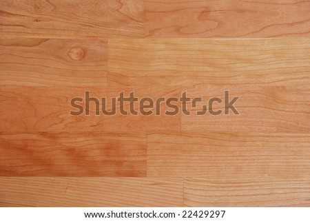 Cherry wood parquet texture - real wood - stock photo