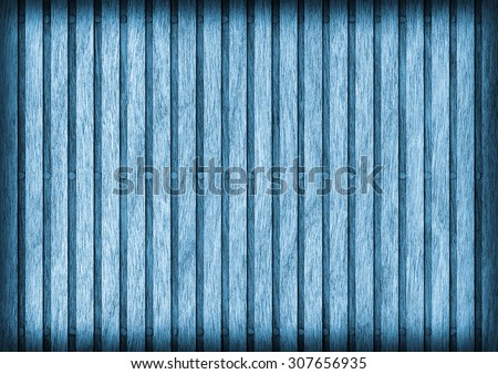Cherry Wood Place Mat, Bleached and Stained Blue, Vignette Grunge Texture Sample.