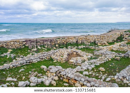 Chersonesus ruins are today a popular tourist attraction, protected by the Ukrainian state as an archaeological park.