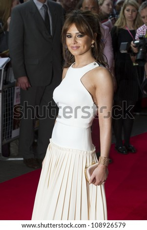 Cheryl Cole arriving for the UK Premiere of 'What To Expect When You're Expecting' at the Imax Cinema, London. 22/05/2012 Picture by: Simon Burchell / Featureflash - stock photo