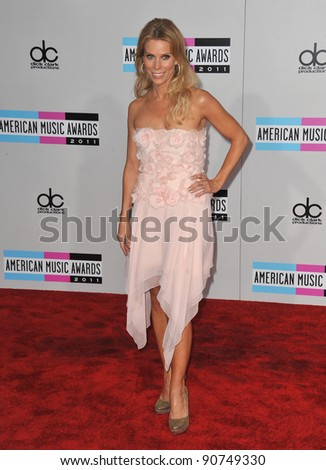 Cheryl Hines arriving at the 2011 American Music Awards at the Nokia Theatre, L.A. Live in downtown Los Angeles. November 20, 2011  Los Angeles, CA Picture: Paul Smith / Featureflash