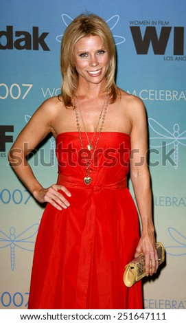 Cheryl Hines attends Women In Film Presents The 2007 Crystal and Lucy Awards held at the Beverly Hilton Hotel in Beverly Hills, California, California, on June 14, 2006.  - stock photo