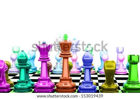 Chess - stock photo