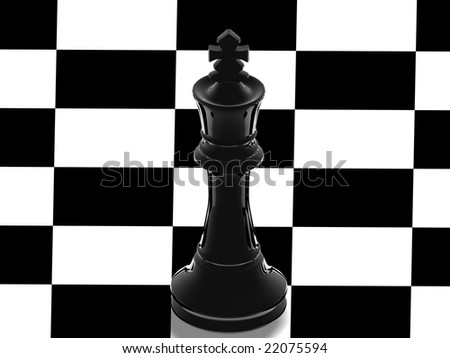 Chess: Black King