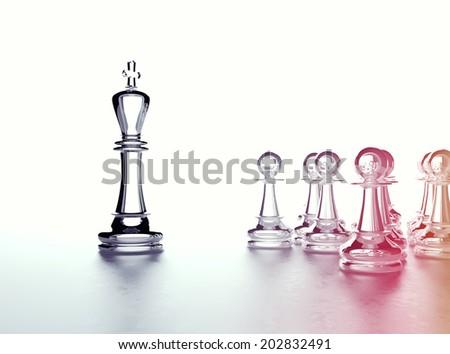 Chess concept - stock photo