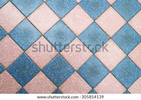 Chess floor for play the chess game - stock photo