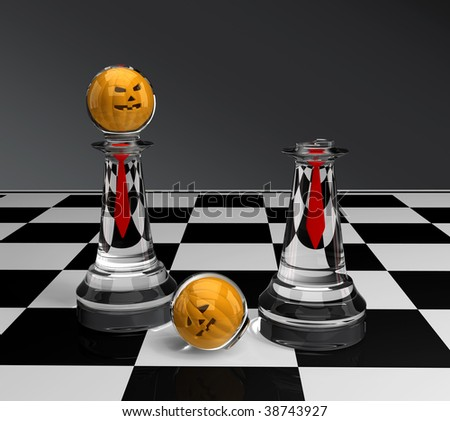 chess - halloween