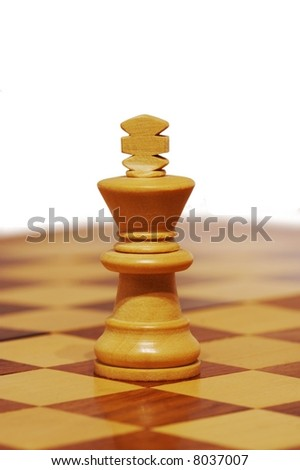 Chess king - stock photo