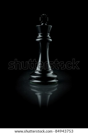 Chess King - stock photo