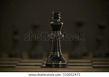 Chess piece - stock photo