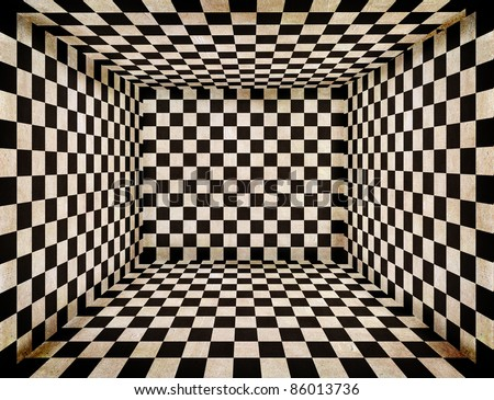 chess room - stock photo