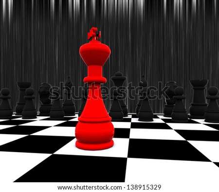 Chess three-dimensional,  Battle
