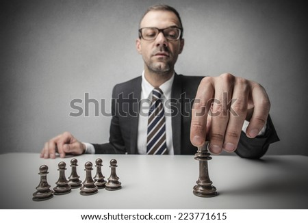 Chessmate  - stock photo