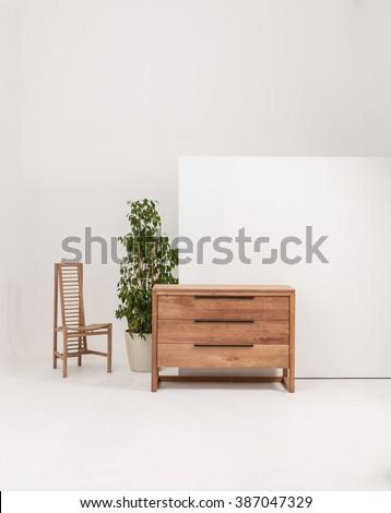Modern Wood Furniture Stock Images RoyaltyFree Images Vectors - Contemporary wood furniture