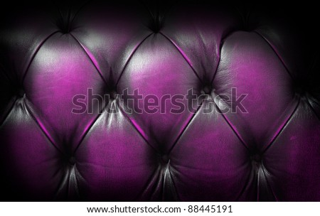 Chesterfield detail - stock photo