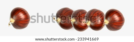 chestnuts one pioneer first - exception outstanding - the best - stock photo