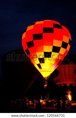 CHIANG MAI, THAILAND - NOVEMBER 25: International Balloon Festival on November 25, 2012 in Chiang Mai, Thailand.
