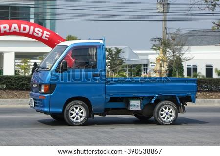 CHIANGMAI THAILAND FEBRUARY 16 2016 Private Mini Truck Of Daihatsu Hijet On