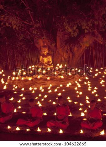 Buddhist Monk Symbol Stock Images, Royalty-Free Images ...