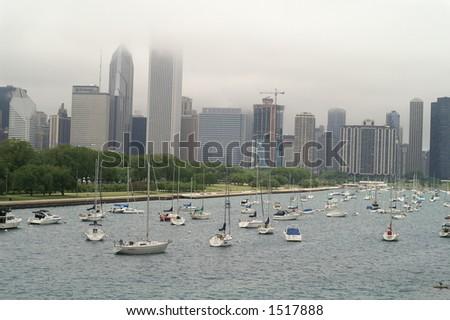 Chicago. - stock photo