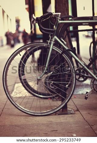 Chicago Bikes - stock photo