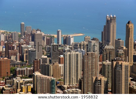 Chicago Buildings - stock photo