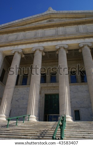 Chicago Field Museum - stock photo
