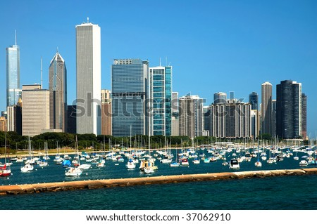 Chicago  is the largest city in the U.S. state of Illinois, and with over 2.8 million people is the third largest city in the United States.