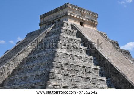 Chichen Itza in Mexico - stock photo