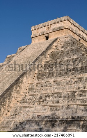 Chichen Itza Mayan Ruin - stock photo