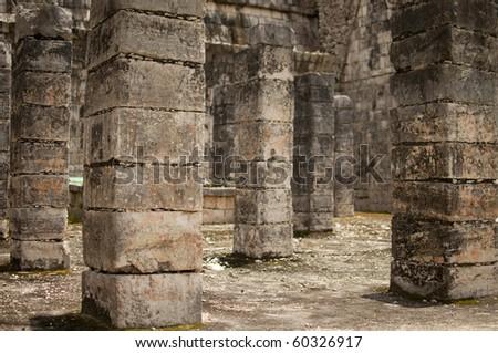 Chichen Itza ruins - stock photo