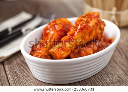 Chicken Cacciatore - stock photo