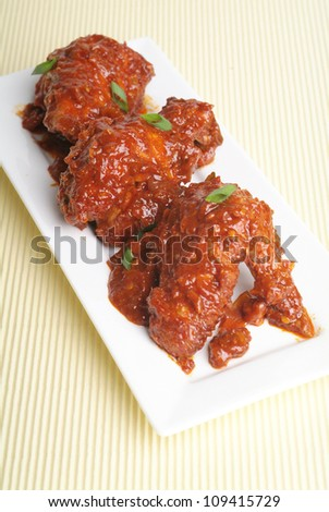Chicken Curry, curry chicken asia food - stock photo