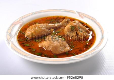Chicken Curry im-7 - stock photo