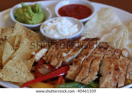 Chicken Fajita - stock photo