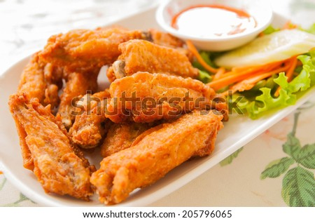 Chicken Fried - stock photo
